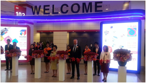 """All in Print China ""Attended 2015 Thailand International Pack and Print Exhibition"