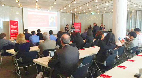 All in Print China Global Presentation Made Grand Debut at drupa