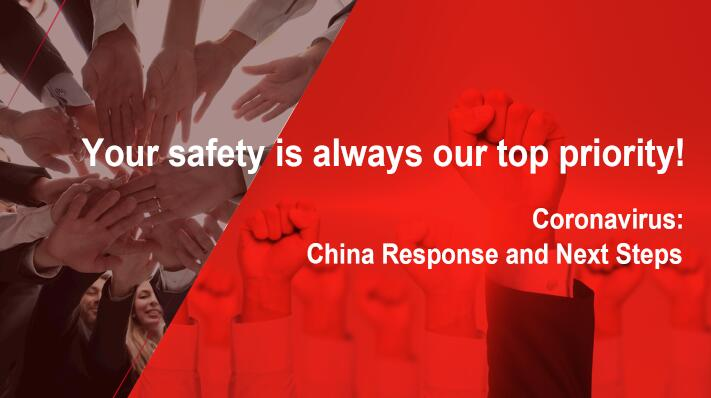 Your safety is always our top priority!